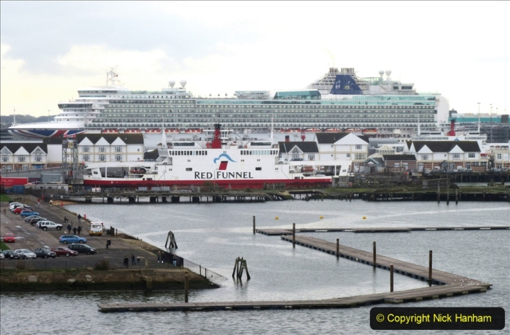 2019-11-03 to 17 Cunard's Queen Mary Southampton to New York. (136) Southampton. 136