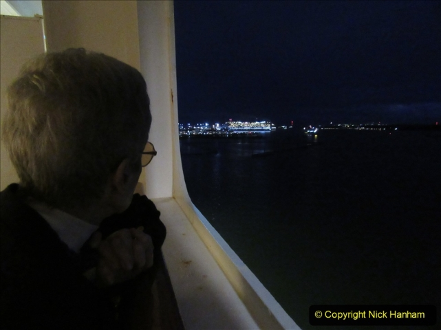 2019-11-03 to 17 Cunard's Queen Mary Southampton to New York. (145) 145