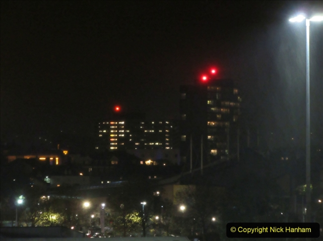 2019-11-03 to 17 Cunard's Queen Mary Southampton to New York. (161) Bonfire night celebration for November 05 as we leave. 161