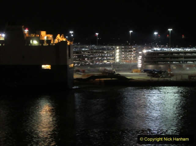 2019-11-03 to 17 Cunard's Queen Mary Southampton to New York. (185) Leaving Southampton for New York. 185
