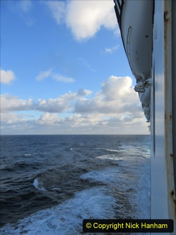 2019-11-03 to 17 Cunard's Queen Mary Southampton to New York. (239) At sea. 239