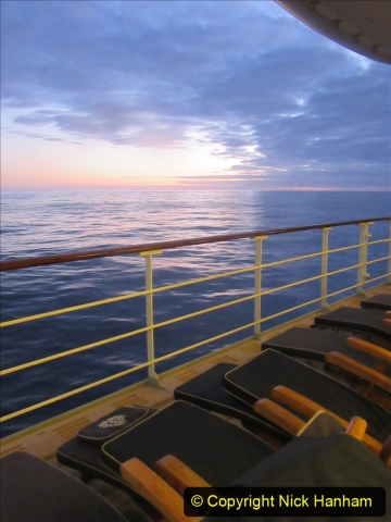 2019-11-03 to 17 Cunard's Queen Mary Southampton to New York. (244) At sea. 244