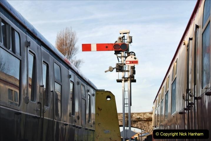 2019-11-28 The SR no running day Swanage to Wareham. (57) 057