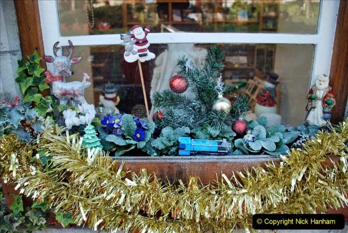 2019-11-28 The SR no running day Swanage to Wareham. (70) Santa Specials Preparations. 070