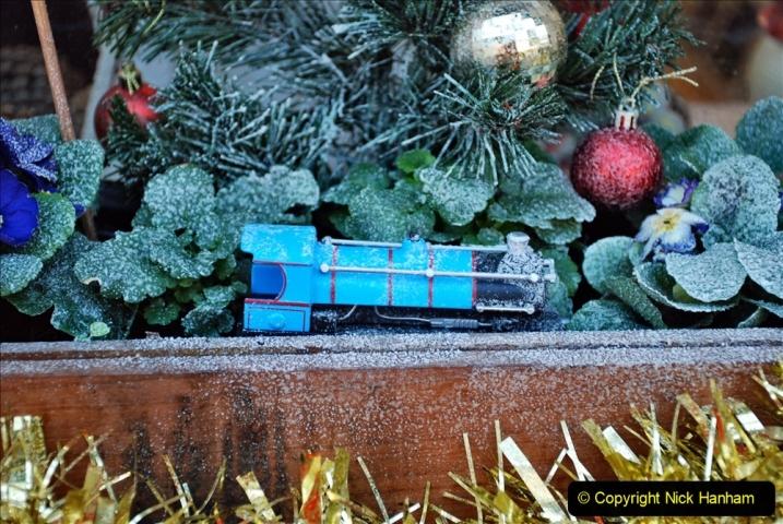 2019-11-28 The SR no running day Swanage to Wareham. (71) Santa Specials Preparations. 071