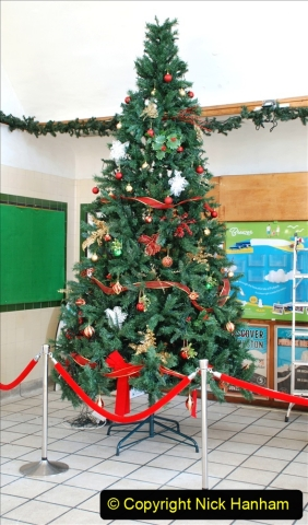 2019-11-28 The SR no running day Swanage to Wareham. (78) Santa Specials Preparations. 078