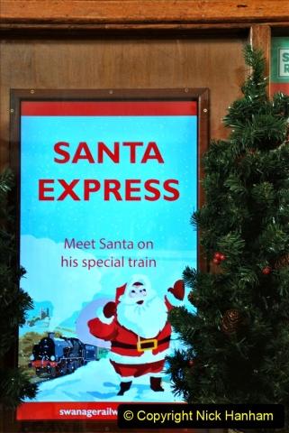 2019-11-28 The SR no running day Swanage to Wareham. (80) Santa Specials Preparations. 080