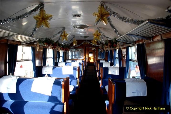 2019-11-28 The SR no running day Swanage to Wareham. (97) Santa Specials Dining Train. 097