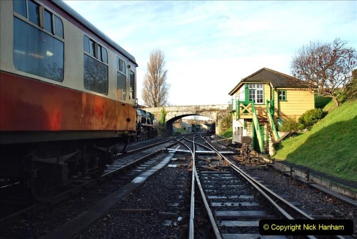 2019-11-28 The SR no running day Swanage to Wareham. (106) 106