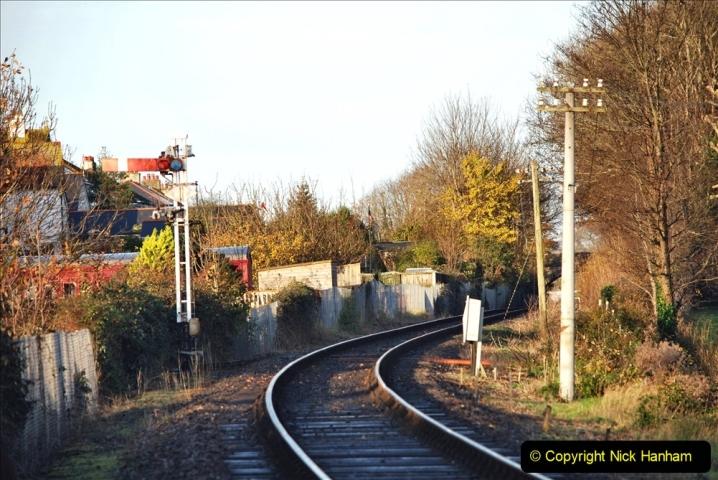 2019-11-28 The SR no running day Swanage to Wareham. (107) 107