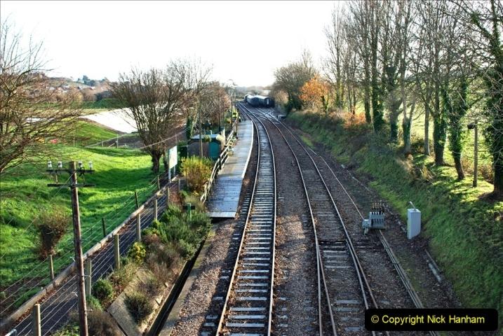 2019-11-28 The SR no running day Swanage to Wareham. (108) Herston Holt. 108