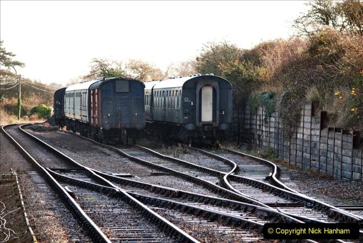 2019-11-28 The SR no running day Swanage to Wareham. (111) Herston Holt. 111