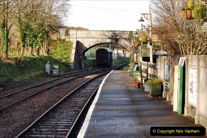 2019-11-28 The SR no running day Swanage to Wareham. (112) Herston Holt. 112