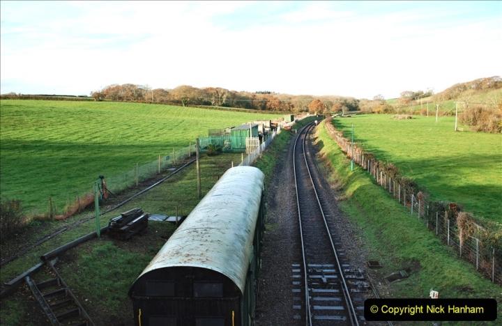 2019-11-28 The SR no running day Swanage to Wareham. (116) Herston Holt. 116
