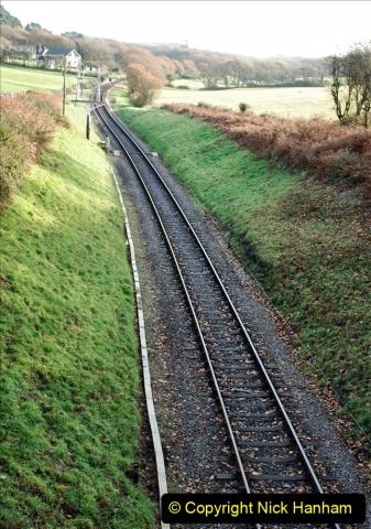 2019-11-28 The SR no running day Swanage to Wareham. (120) Harmans Cross. 120