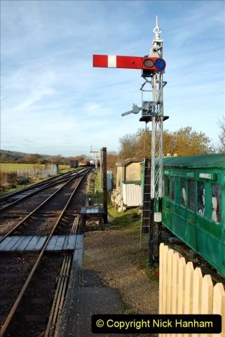 2019-11-28 The SR no running day Swanage to Wareham. (137) Harmans Cross. 137
