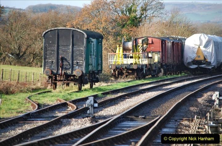 2019-11-28 The SR no running day Swanage to Wareham. (138) Harmans Cross. 138