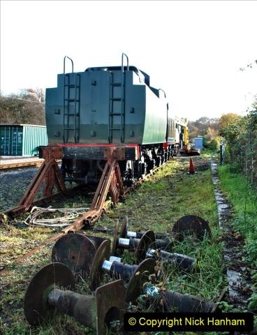 2019-11-28 The SR no running day Swanage to Wareham. (180) Norden. 180