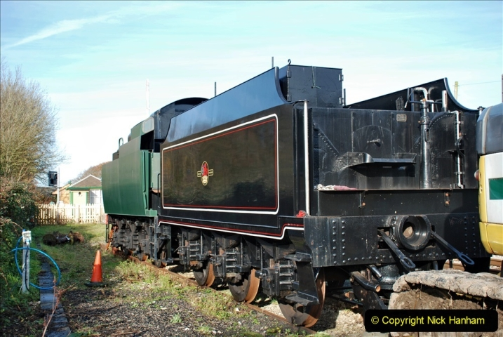2019-11-28 The SR no running day Swanage to Wareham. (181) Norden. 181