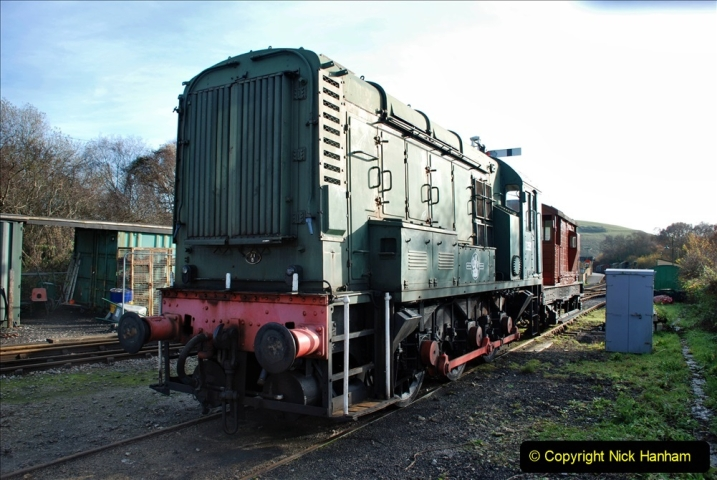 2019-11-28 The SR no running day Swanage to Wareham. (182) Norden. 182