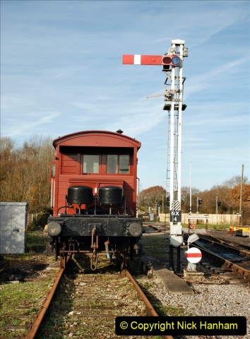 2019-11-28 The SR no running day Swanage to Wareham. (183) Norden. 183