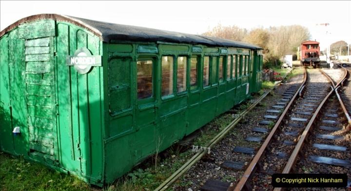 2019-11-28 The SR no running day Swanage to Wareham. (185) Norden. 185