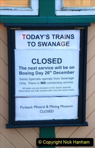 2019-11-28 The SR no running day Swanage to Wareham. (190) Norden. 190