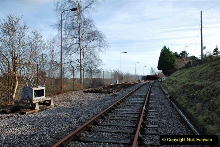 2019-11-28 The SR no running day Swanage to Wareham. (209) Fursbrook. 209