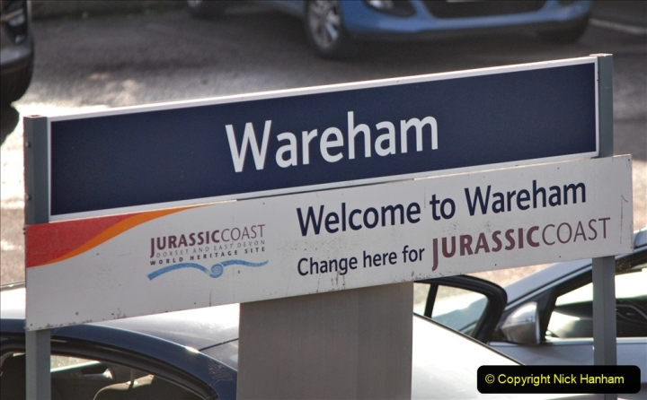 2019-11-28 The SR no running day Swanage to Wareham. (232) Wareham. 232