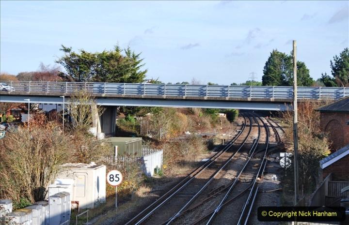 2019-11-28 The SR no running day Swanage to Wareham. (238) Wareham. 238
