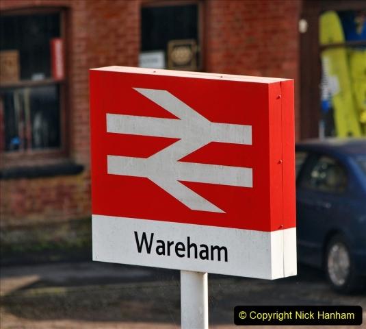 2019-11-28 The SR no running day Swanage to Wareham. (250) Wareham. 250