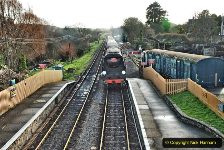 2019-12-07 SR Santa Specials Gallery 1. (77) Corfe Castle. 077