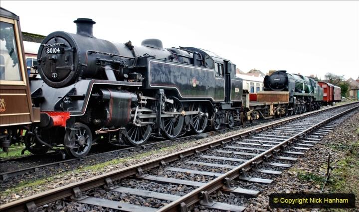2019-12-28 SR Winter Warm Up Steam & Diesel. (8) 008