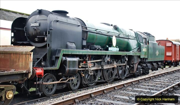2019-12-28 SR Winter Warm Up Steam & Diesel. (11) 011
