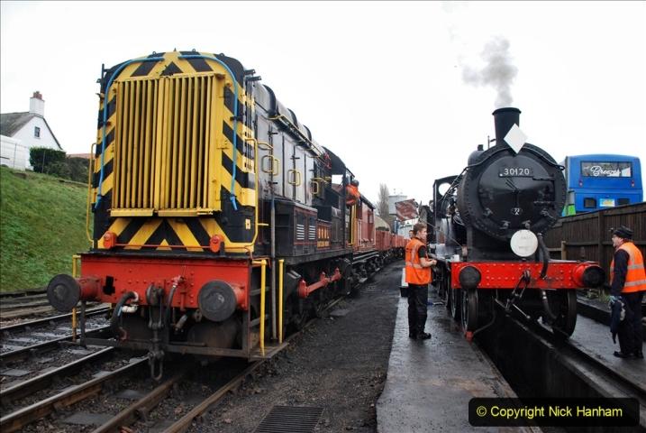 2019-12-28 SR Winter Warm Up Steam & Diesel. (88) 088