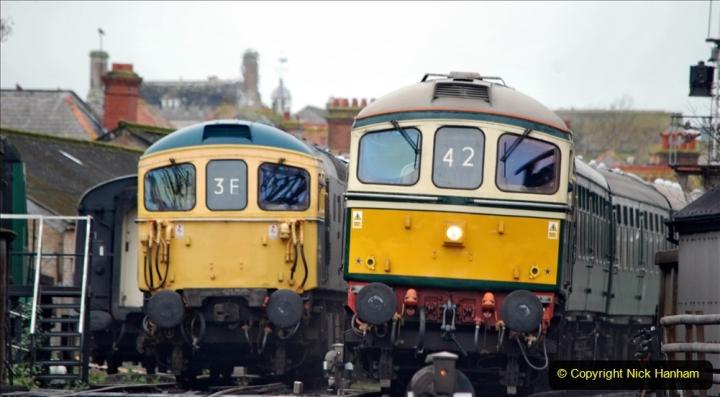 2019-12-28 SR Winter Warm Up Steam & Diesel. (90) 090