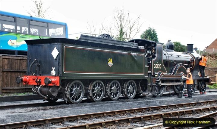 2019-12-28 SR Winter Warm Up Steam & Diesel. (94) 094