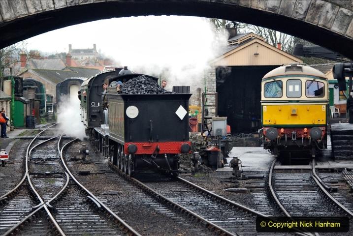 2019-12-28 SR Winter Warm Up Steam & Diesel. (190) 190