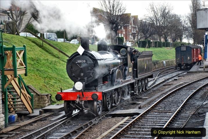 2019-12-28 SR Winter Warm Up Steam & Diesel. (205) 205