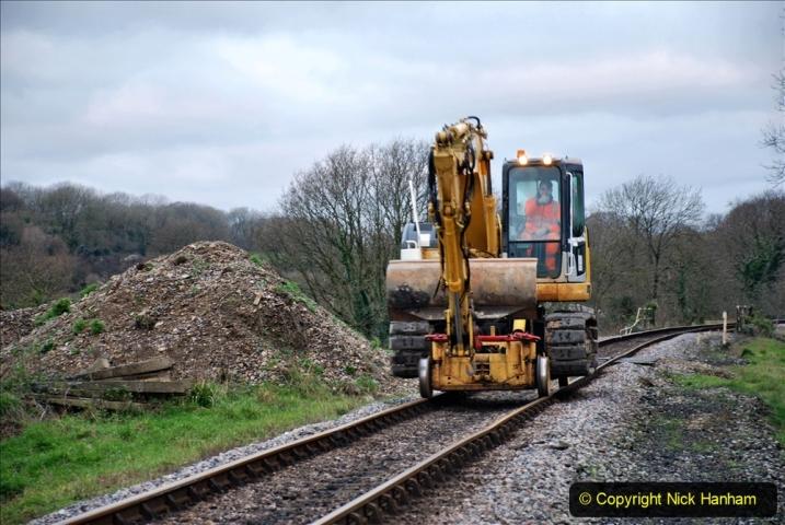 2020-01-06 Track renewal Cowpat Crossing to just beyond Dickers Crossing. (4) 004