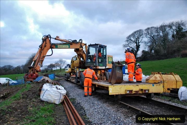 2020-01-06 Track renewal Cowpat Crossing to just beyond Dickers Crossing. (6) 006