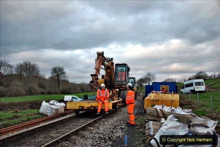 2020-01-06 Track renewal Cowpat Crossing to just beyond Dickers Crossing. (7) 007