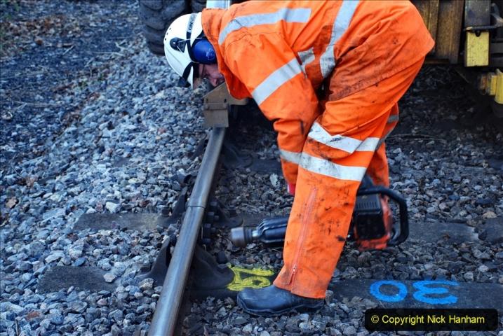 2020-01-06 Track renewal Cowpat Crossing to just beyond Dickers Crossing. (21) 021