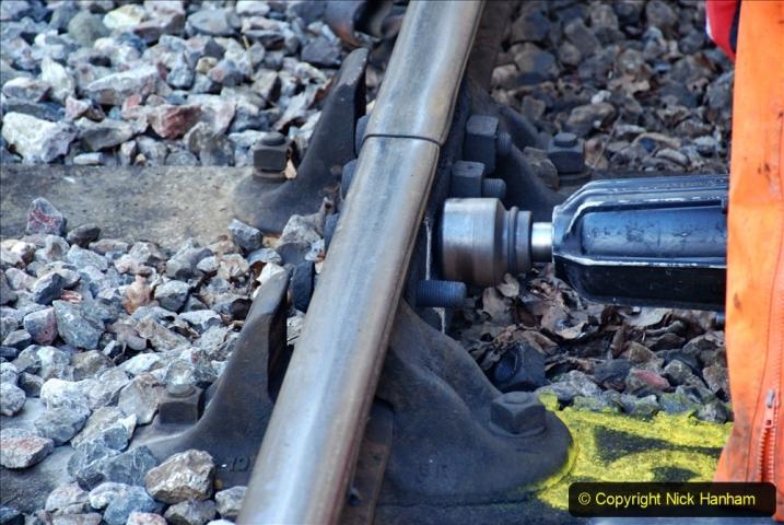 2020-01-06 Track renewal Cowpat Crossing to just beyond Dickers Crossing. (22) 022