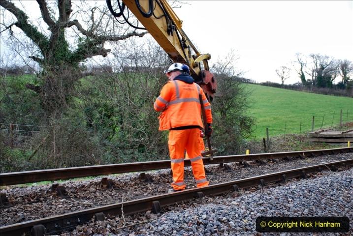 2020-01-06 Track renewal Cowpat Crossing to just beyond Dickers Crossing. (28) 028