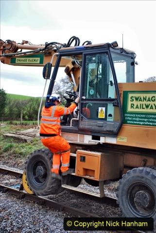 2020-01-06 Track renewal Cowpat Crossing to just beyond Dickers Crossing. (73) 073