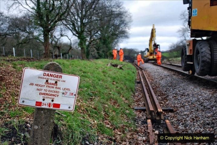 2020-01-06 Track renewal Cowpat Crossing to just beyond Dickers Crossing. (84) 084