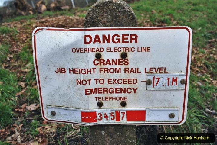 2020-01-06 Track renewal Cowpat Crossing to just beyond Dickers Crossing. (85) 085