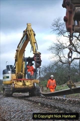 2020-01-06 Track renewal Cowpat Crossing to just beyond Dickers Crossing. (93) 093