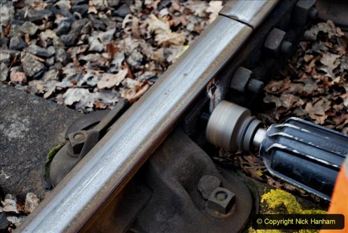 2020-01-06 Track renewal Cowpat Crossing to just beyond Dickers Crossing. (94) 094